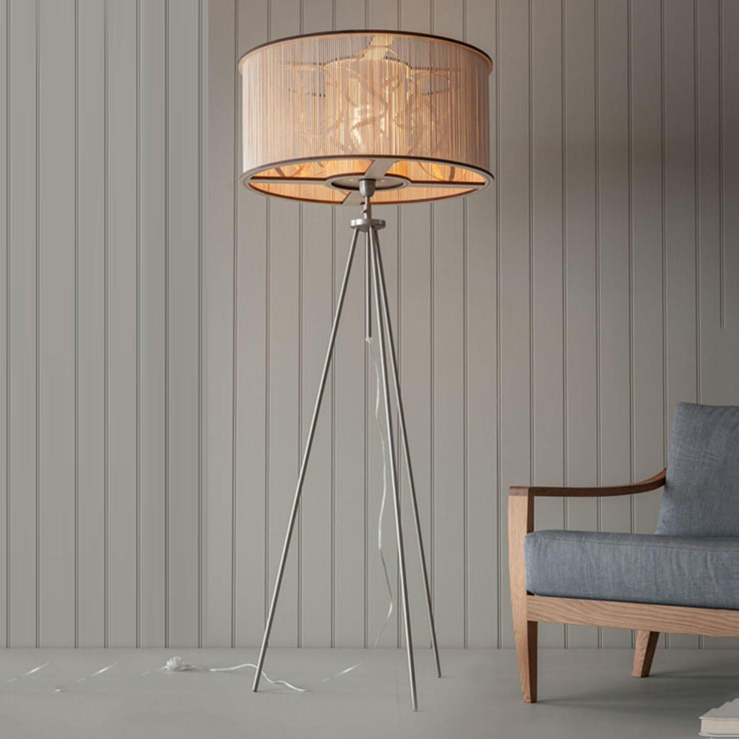 Tom Raffield Large Cage Floor Light Achica Large Floor Lamp Wooden Floor Lamps Floor Standing Lamps