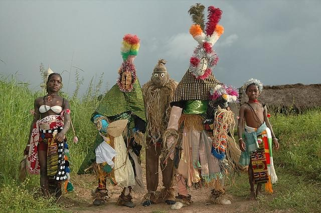 Tribo Baoule de Costa do Marfim