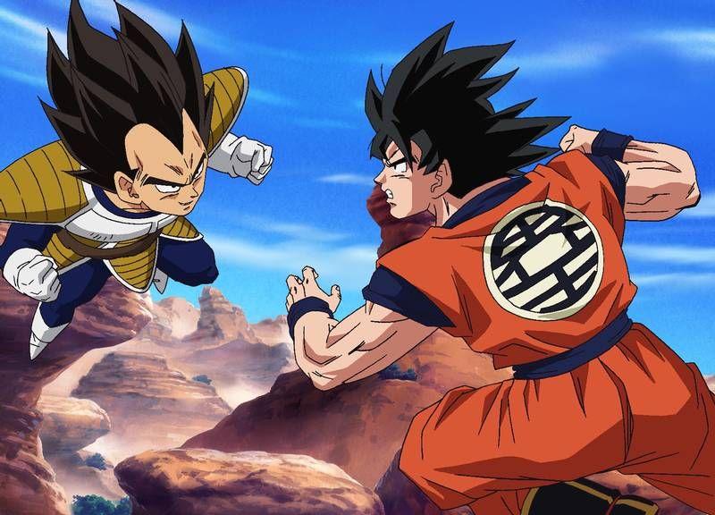 Dragon Ball Z Kai Anime Anime Fight Dragon Ball Z