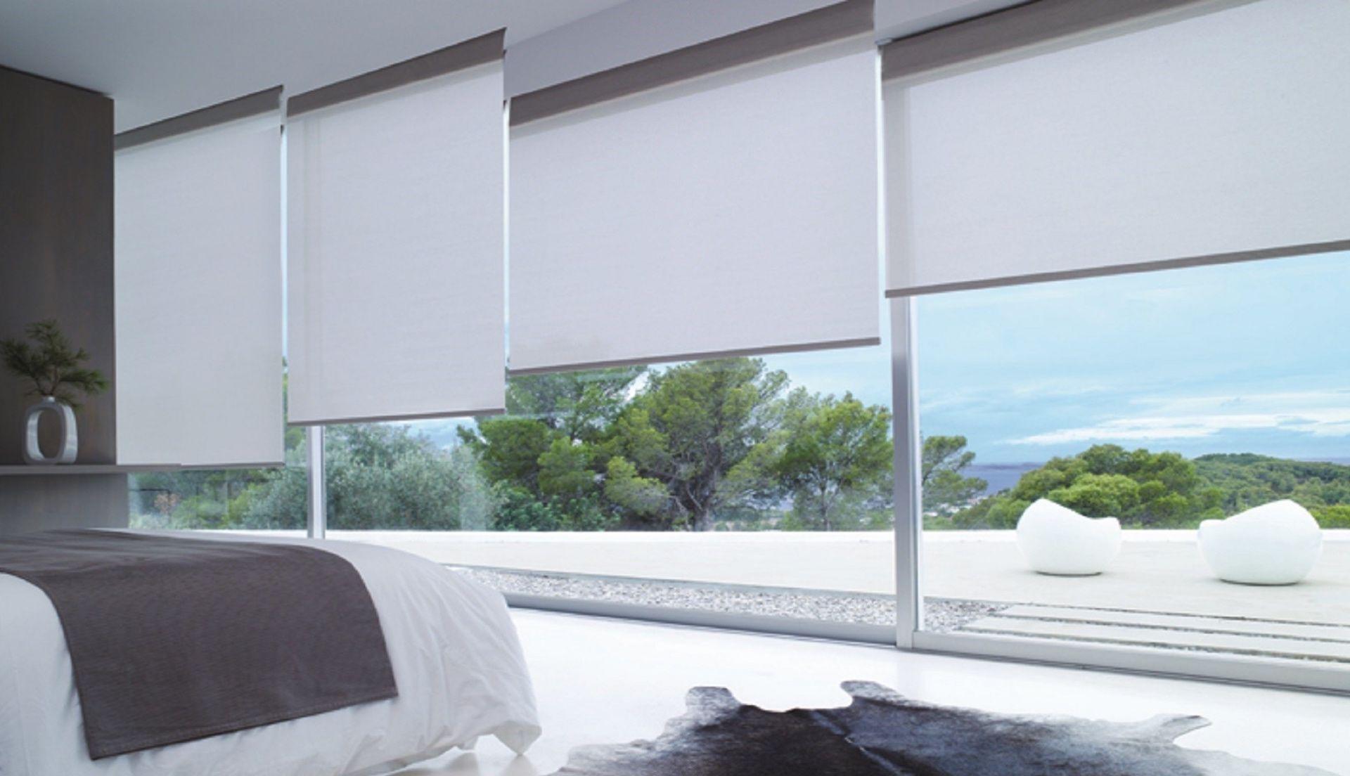 This view! - lichtdoorlatend rolgordijn raamdecoratie.com - screen - rollerblind