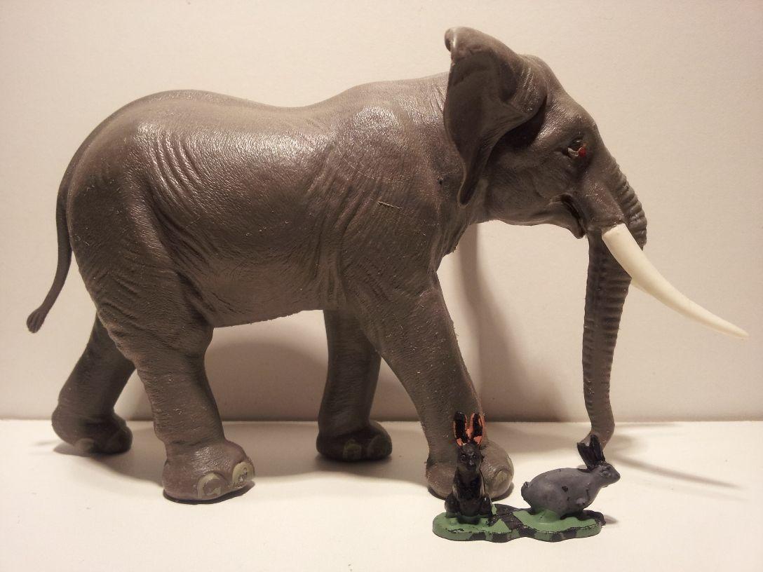 Toys For Elephant : Mojo fun scale elephant toys pinterest
