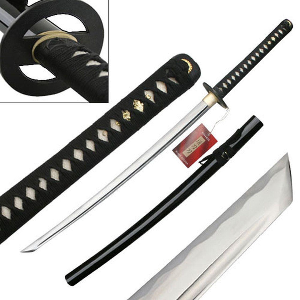 Bushido Samurai Katana Sword Ninja Weapon w Martial Arts Scabbard Equipment Gear