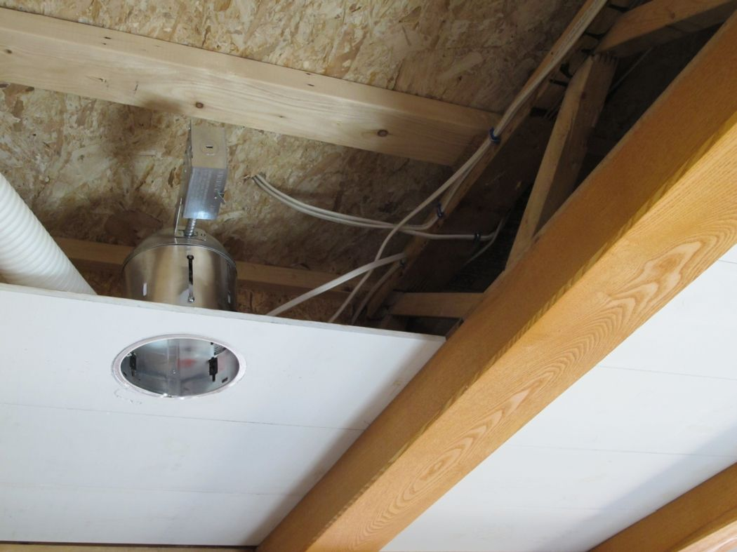 We Are Installing Recessed Lighting On A Home Remodel In Annapolis