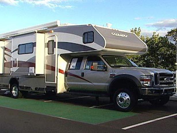 RV Terminology   pickup campers   Recreational vehicles