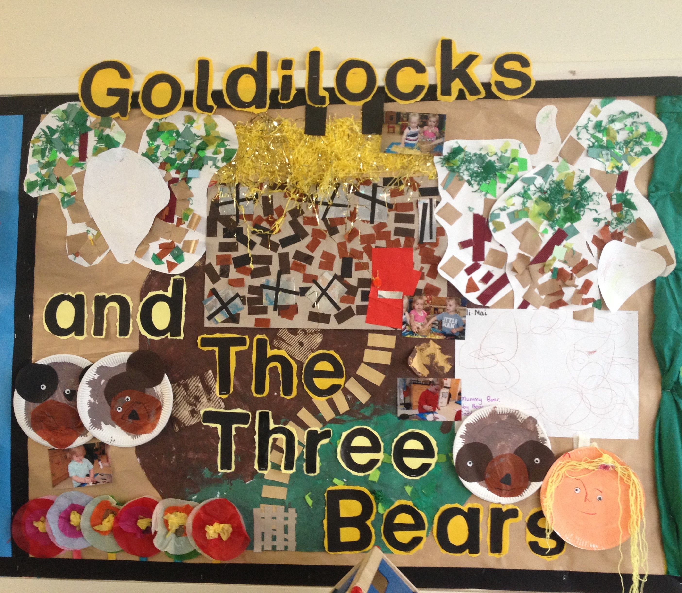 Uncategorized And The Three Bears goldilocks and the three bears display display