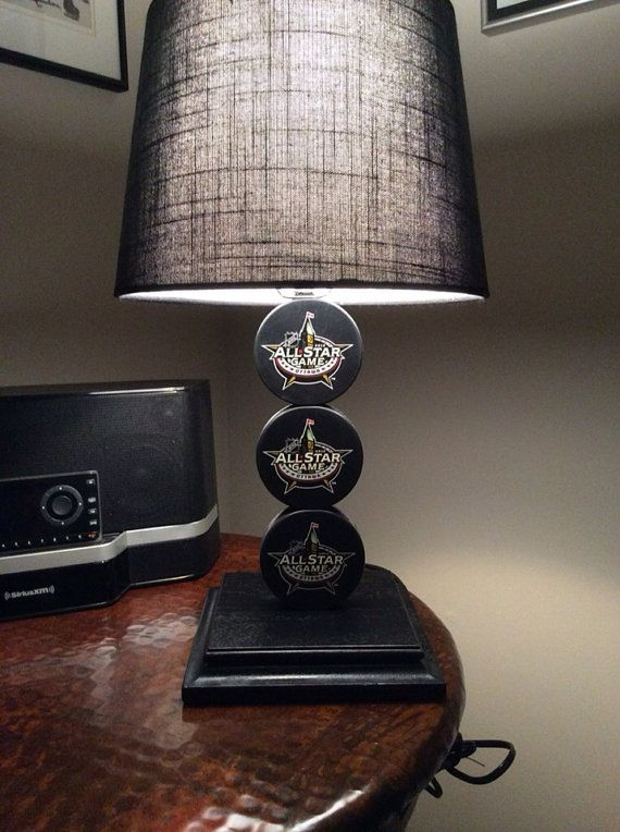 2017 Ottawa All Star Game Hockey Puck Lamp On 65 00