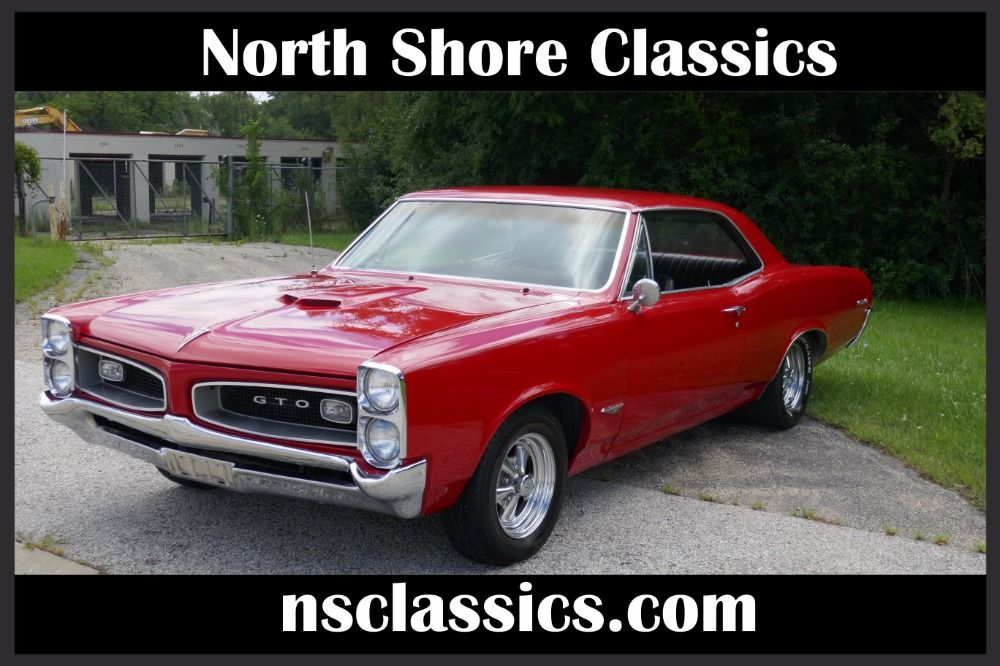 1966 Pontiac GTO -389 ENGINE 4 SPEED & AIR CONDITIONING-FROM NORTH ...