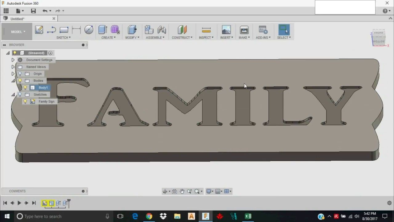 Fusion 360 dxf import tutorial millright cnc dxf