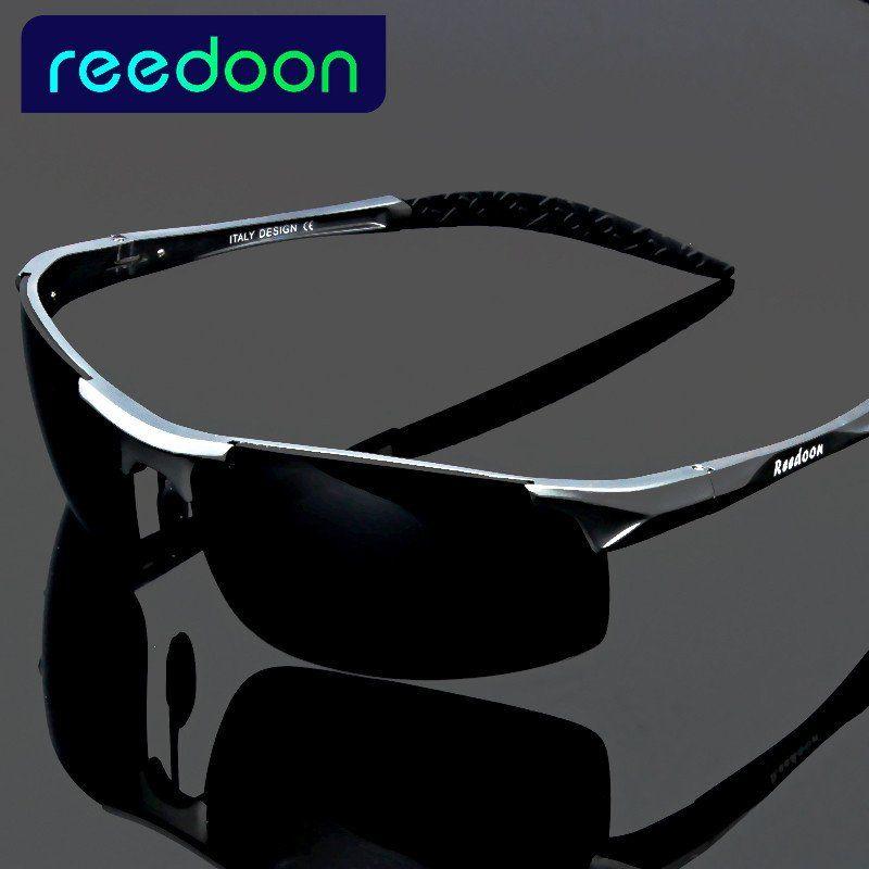 2017 polarized Men's sunglasses aluminum magnesium frame car driving sunglasses men sports for fishing golf-free shipping