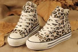 leopard print converse | Leopard print converse, Sneakers