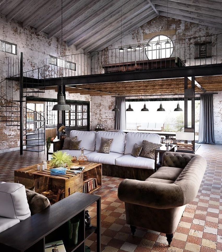 Chic Contemporary Spaces Rendered By Anh Nguyen: Renovated Railroad Depot. By Nguyen Duy Anh Design 📐
