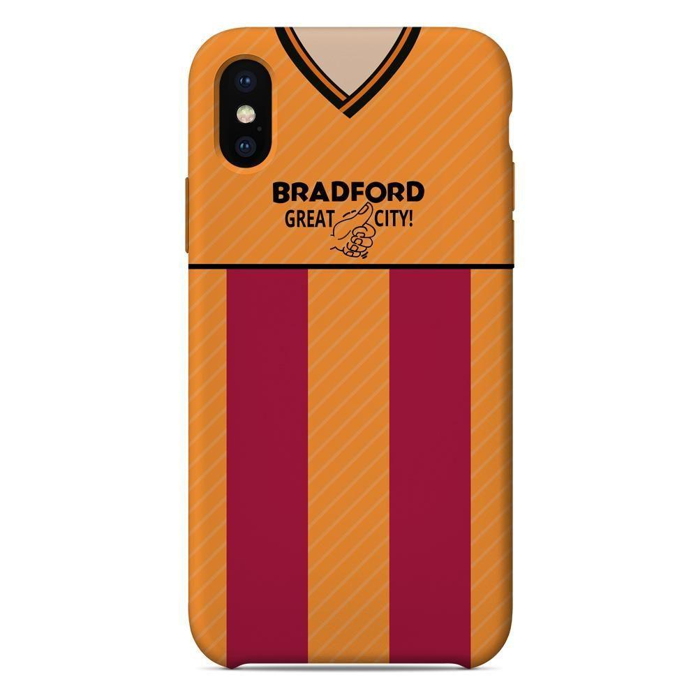 7eff78b6f77 Bradford City 1987 88 Home Shirt - iPhone   Samsung Galaxy Phone Case