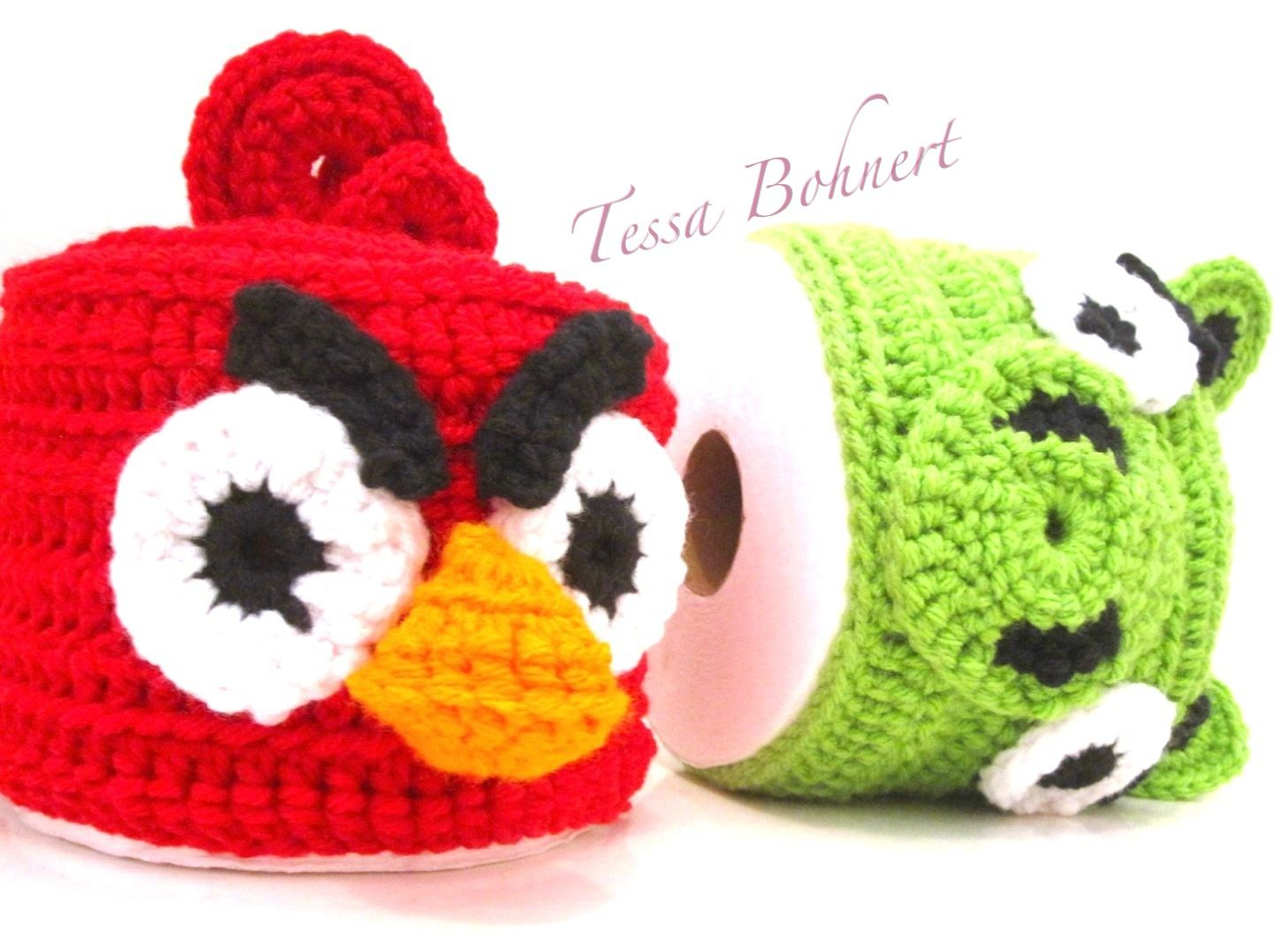 Angry Bird Toilet paper covers #airfreshnerdolls