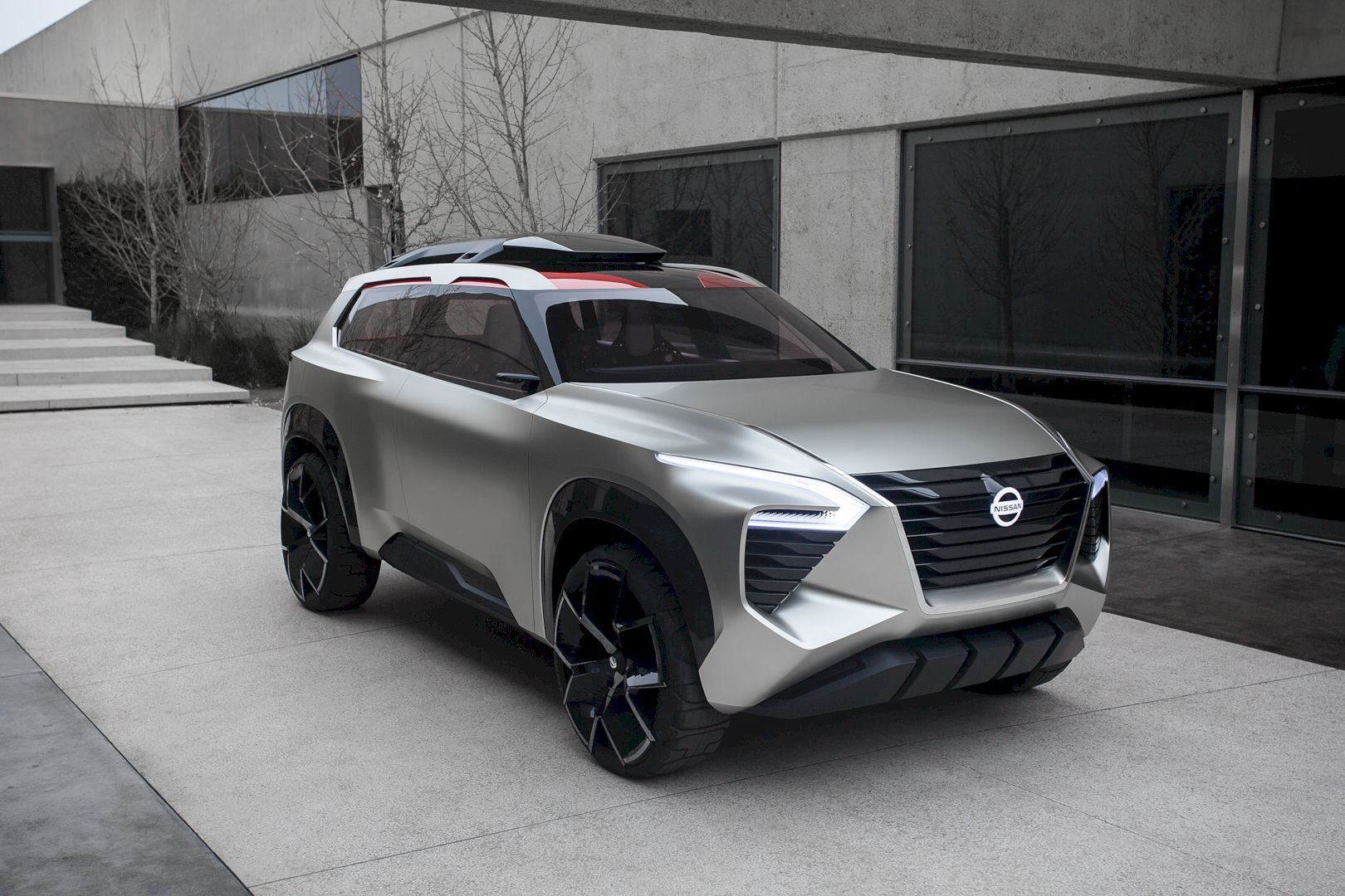 Nissan Xmotion Rule Out Any Doubt In Designing The Next Step Of Futuristic Suv Nissan Sport Utility Vehicle Car