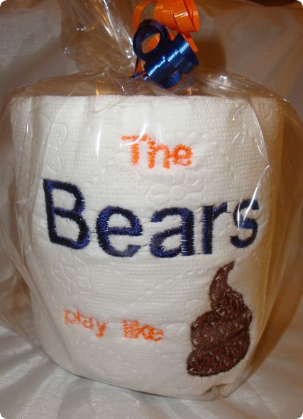 chicago bears toiletpaper because you never know ...