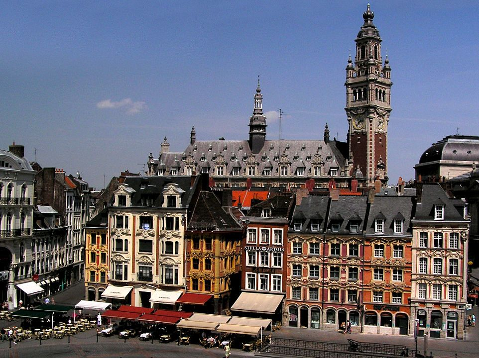 Lille France, in December for one of the most beautiful Christmas