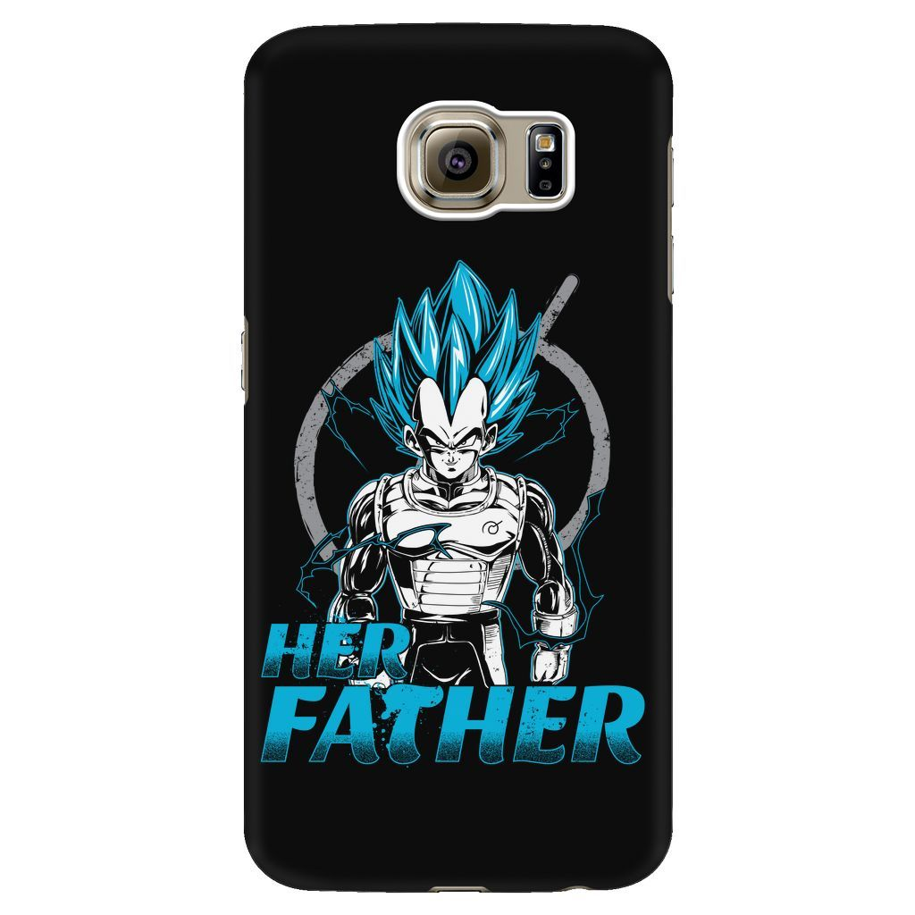 Super Saiyan Vegeta Father And Daughter Android Phone Case - TL00520AD