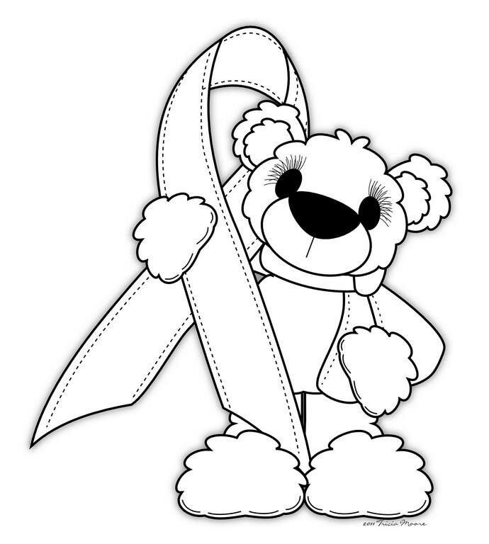Breast Cancer Awareness Coloring Pages - AZ Coloring Pages   art ...