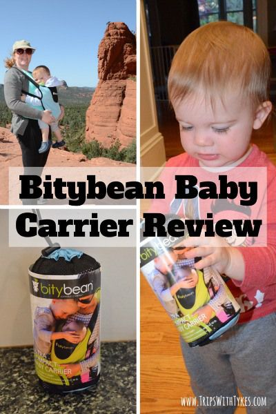Bitybean Baby Carrier Review Giveaway Trips With Tykes Blog