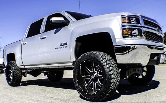 2014 Silverado on 22x12 Maverick! - Fuel Off-Road Wheels