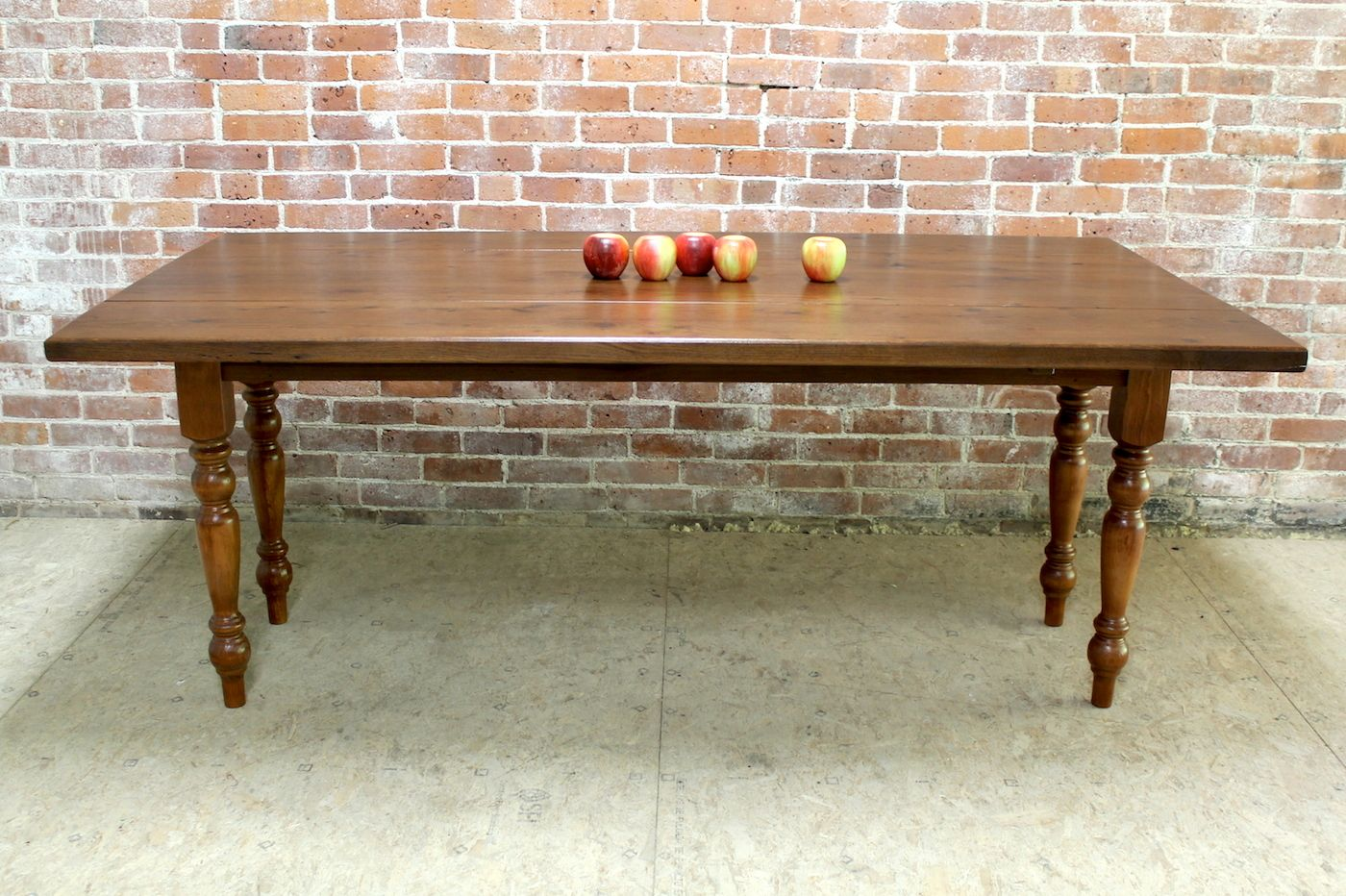 Reclaimed Oak Drop Leaf Farm Table. Hand Crafted By The Team At  ECustomFinishes.com
