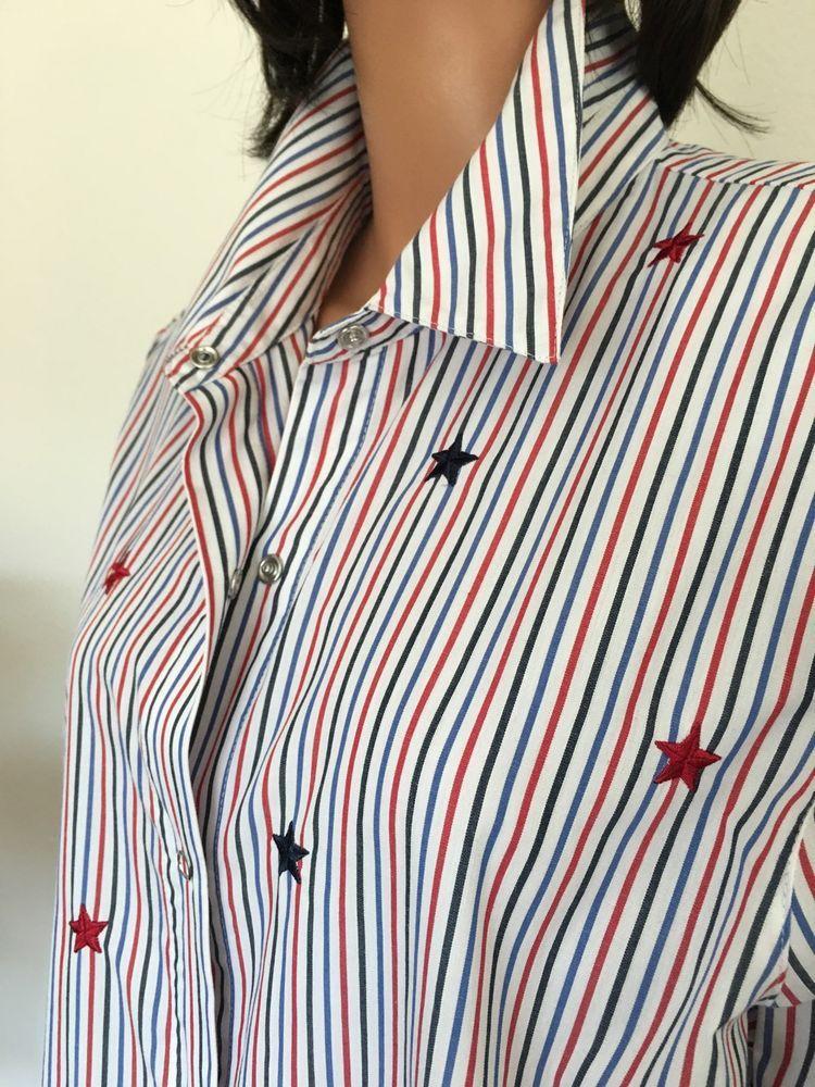 b3eab3cd03e3a Alfred Dunner Women Plus Size 18 Shirt Patriotic Stars Stripe Designer  Fashion  AlfredDunner  ButtonDownShirt