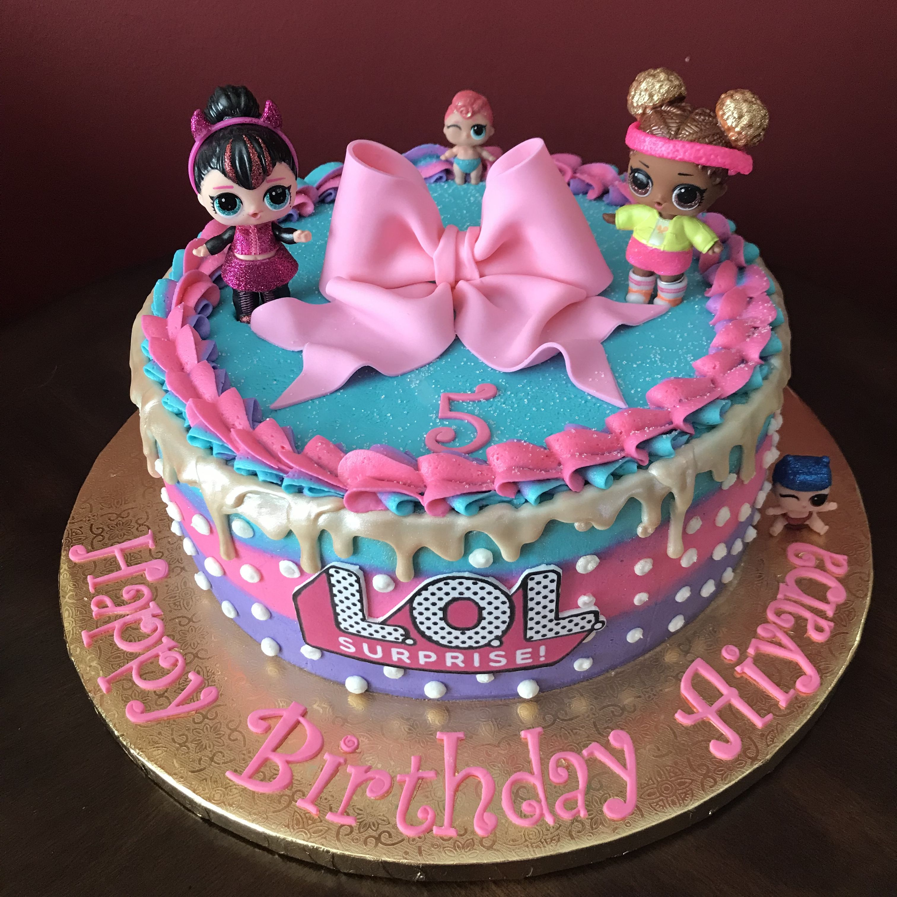 Lol Surprise Birthday Cake With Images Funny Birthday Cakes