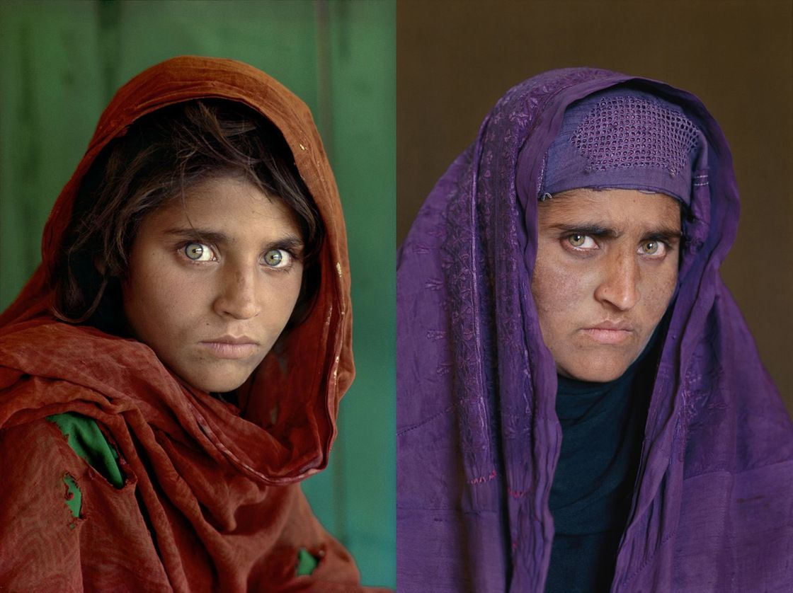 There S More To Mccurry Than The Afghan Girl Afghan Girl