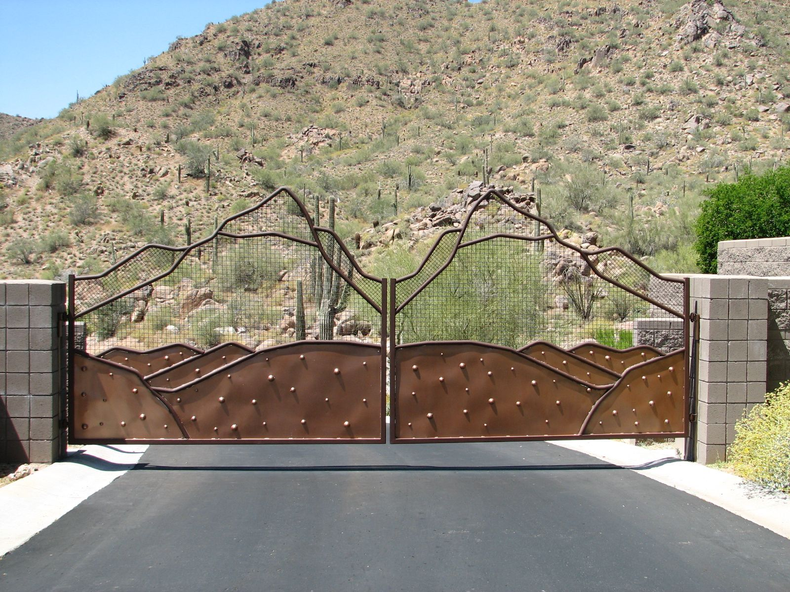Custom Iron Gate Metal Inspiration For Christian