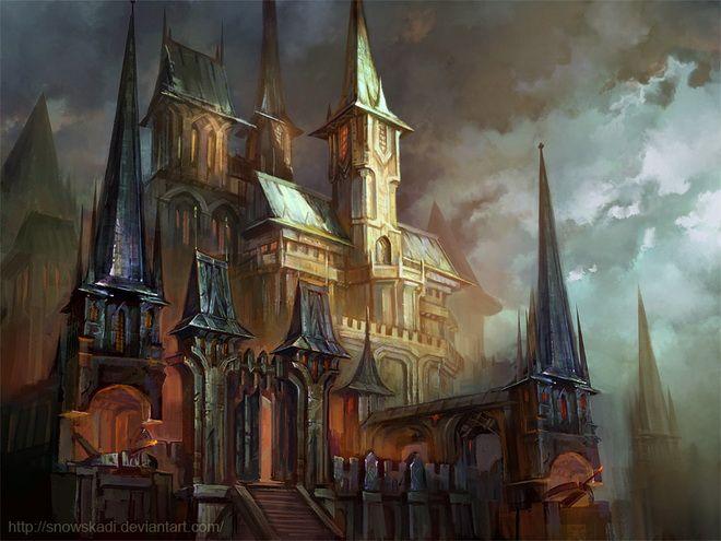 Fantasy art by SnowSkadi Metal Castle | Art Tutorials and art ...