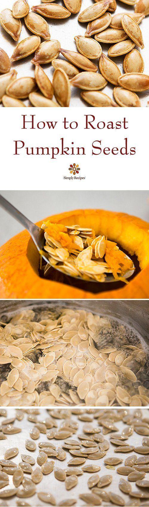 Roasted Pumpkin Seeds {Super Easy} | SimplyRecipes.com