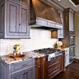 Deep Soffit   Use Crown Moulding Around Cabinets *** Kitchen Hood, Kitchen  Cabinetry