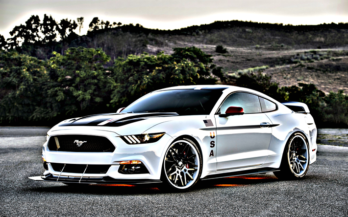 Download Wallpapers HDR, Ford Mustang GT Apollo Edition