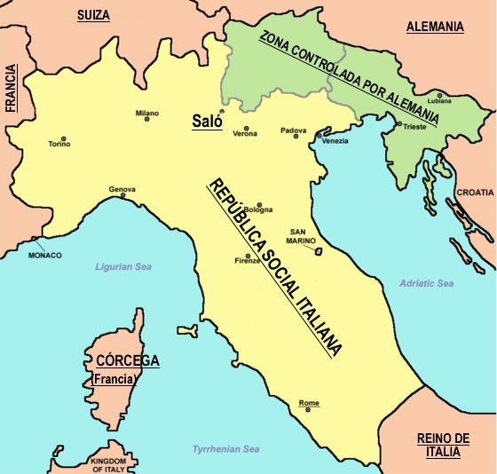 Repblica Social Italiana Repblica de Sal  Fascismo Nazismo y