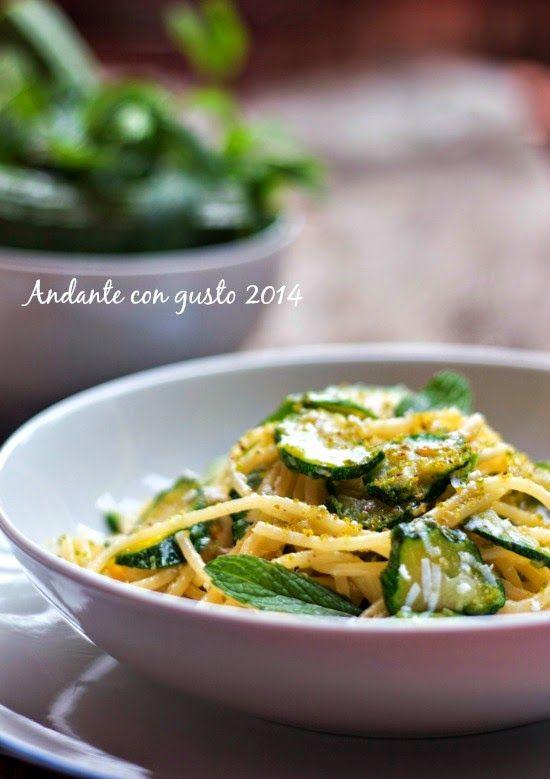 Andante con gusto: Io figlia di Carosello: spaghetti con zucchine, po...