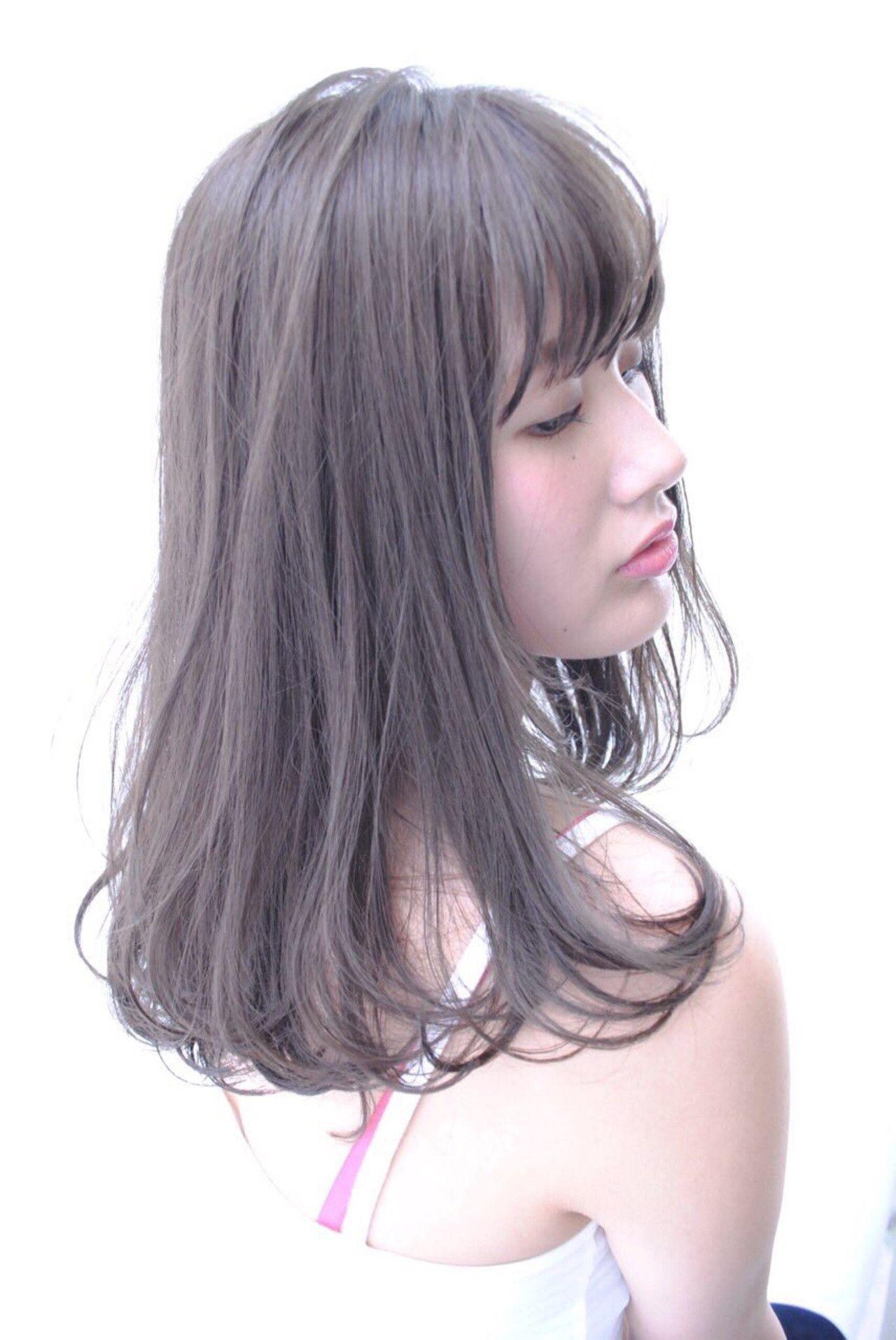 芸能人から学ぶ 男ウケ抜群 モテのミディアムストレート Hair