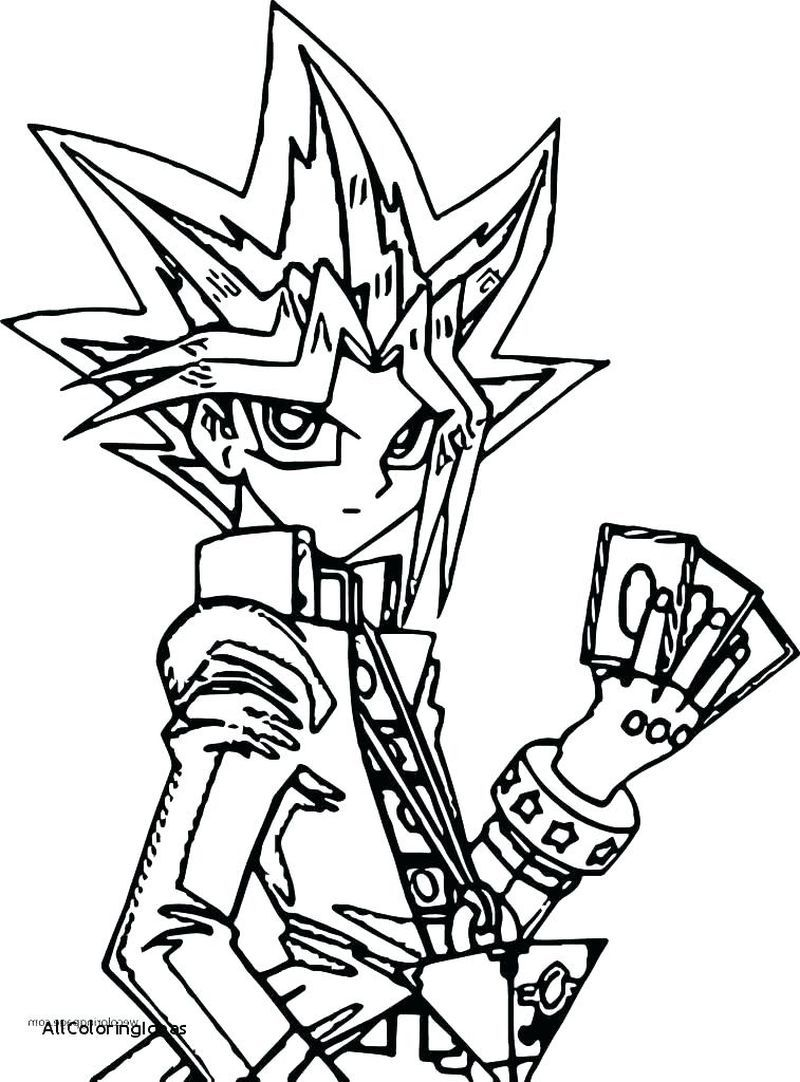 Yugioh 5ds Coloring Pages Free In 2020 Coloring Pages Monster Coloring Pages Ninjago Coloring Pages