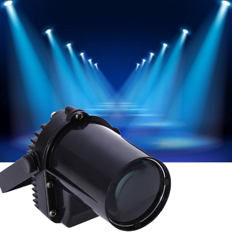 New Pinspot Beam Blue Spot Stage Lights Lamp Led Dmx512 Dj Party Bar Club Stage Portable Sound Activated Led Spotlight Led Lights Led Color