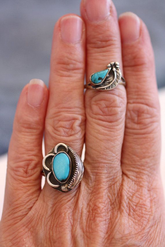 Details about  /Turquoise ring Sterling Silver Ring Boho ring,Women Rings,Gemstone Silver Ring
