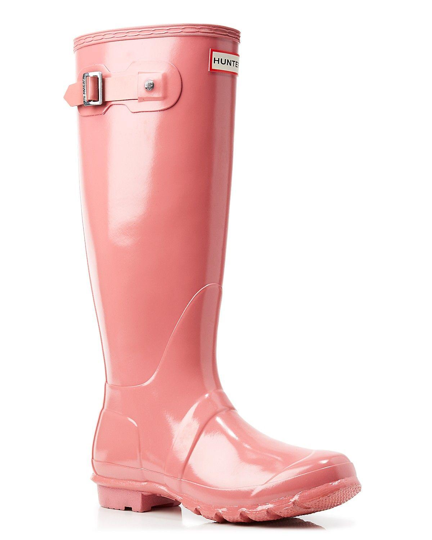 44605b65fe Hunter Rain Boots - Original Tall Gloss
