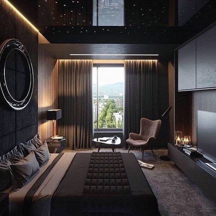 Дизайн комнаты для мужчины фото настаивал