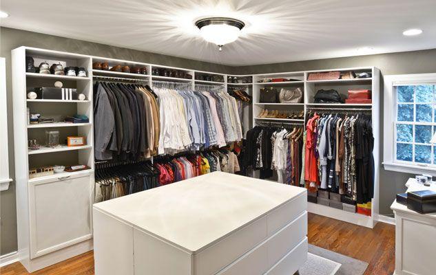 Walk In Closet Setup