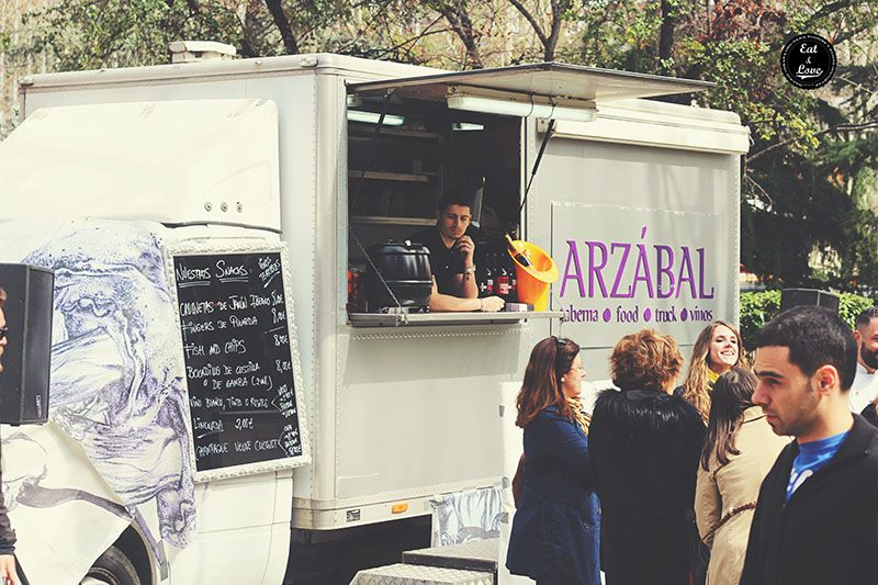 Arzábal Food Truck - Street Food Madrid