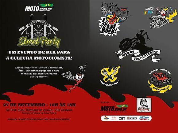 Motos Custom - Motos Customizadas - MOTO.com.br MOTO.com.br Street Party: Cultura custom e solidariedade