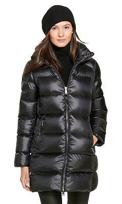 Hooded Down Coat - Polo Ralph Lauren Coats - RalphLauren.com