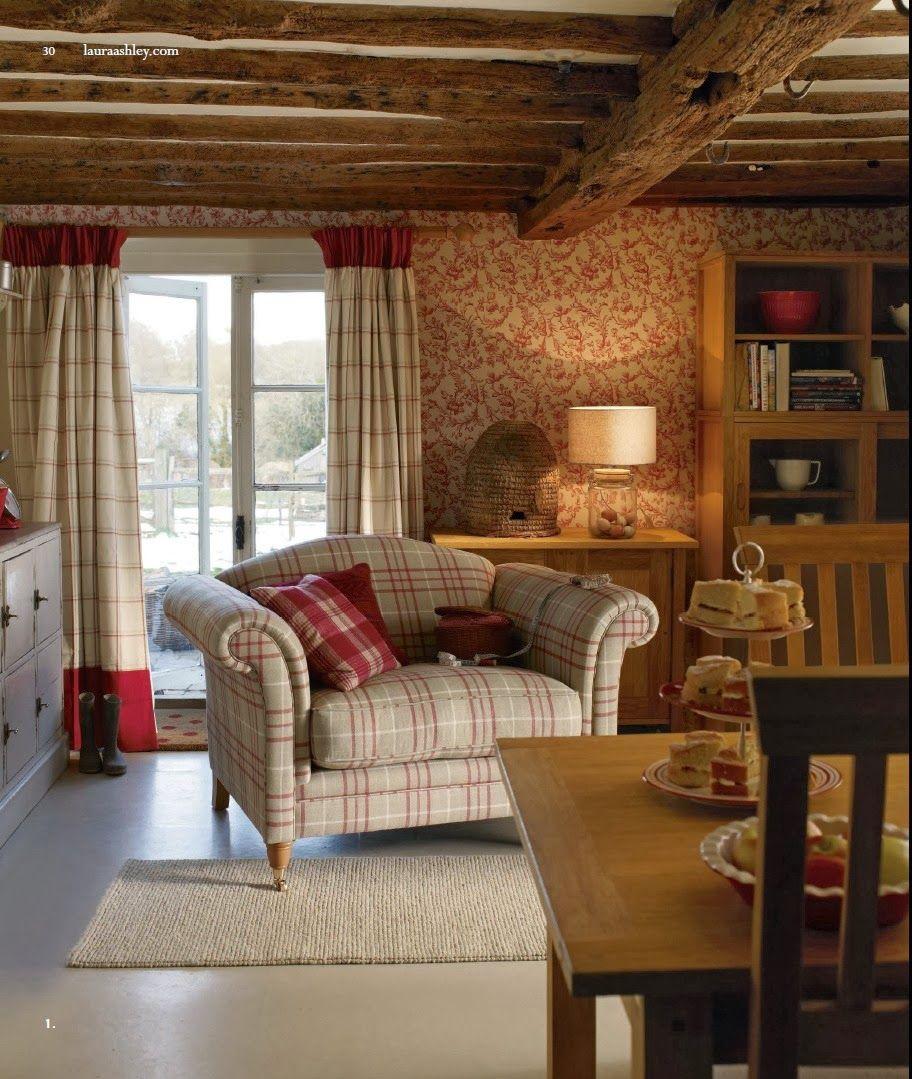 English Country Cottage Room Decoration Wohnzimmer Haus Landhaus