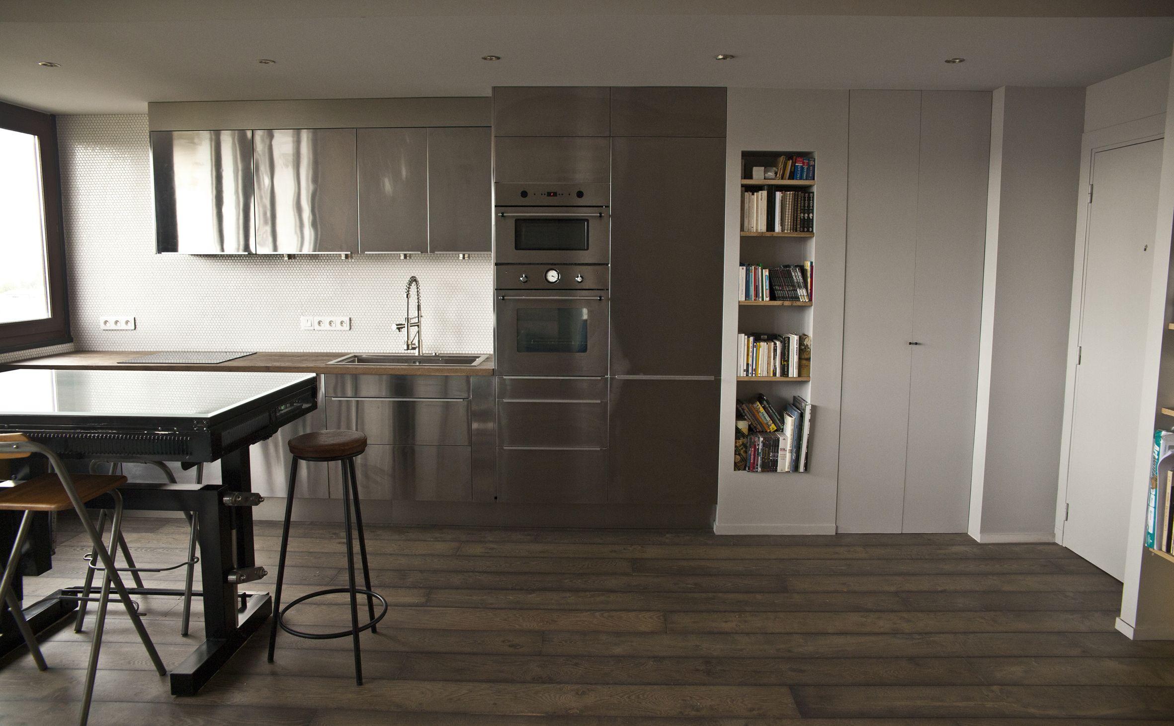 cuisine ouverte cuisine. Black Bedroom Furniture Sets. Home Design Ideas