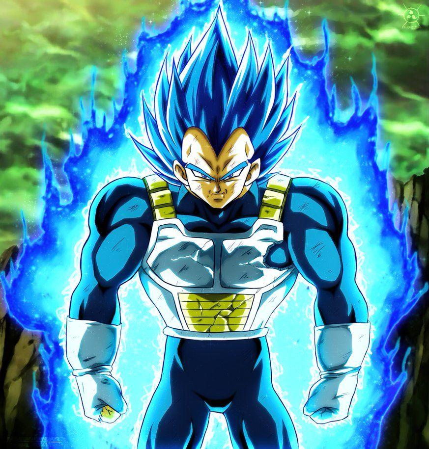 Vegeta Full Power By Naruto999 By Roker Dragon Ball Artwork Dragon Ball Super Manga Dragon Ball Wallpapers