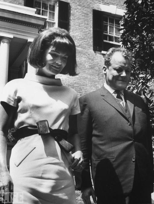 Jackie Kennedy during Spring 1964 in Washington DC.