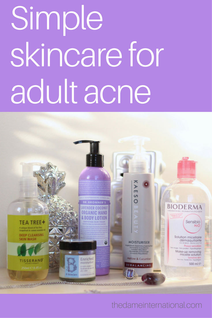 Simple Skin Care For Adult Acne Best acne products, Best